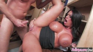 Twistys - Big tit teacher Kerry Louise needs some dick