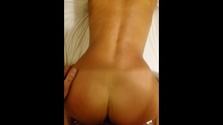 MILF asking for another dick while being fucked