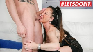 LETSDOEIT - Italian Milf Gets Pounded Hardcore at Porn Casting