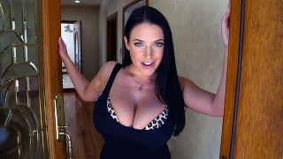 PropertySex - Busty real estate agent Angela White hungry for cock