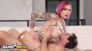 BANGBROS - Tyler Nixon Makes His Stepmom Anna Bell Peaks Squirt