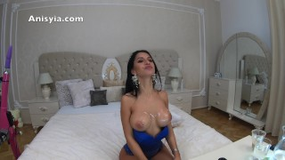 4k anisyia livejasmin is that cum on my tits?