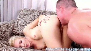 Cute Brace Faced Teen Olivia Gets Tight Ass Fucked AllAnal!