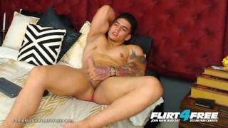 Dorian Lux on Flirt4Free - Huge Uncut Cock Muscle Worship Latino Stud