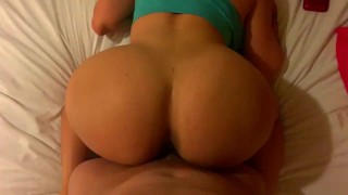 Big bubble butt puertorican gets rough anal fuck!!!