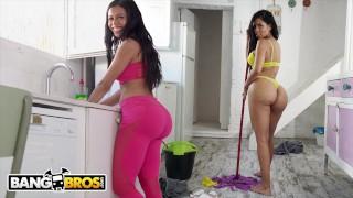 BANGBROS - Big Booty Maid Canela Skin Gets Fucked By Pablo Ferrari