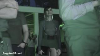 Jeny Smith Naked at public event