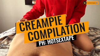 HOT CREAMPIE COMPILATION 2019 | hotsextape