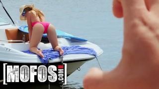 MOFOS - Sneaky pov Kenzie Madison cock sucking