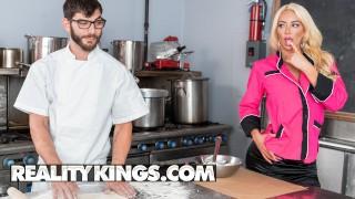 Reality Kings - Big tit phat ass Nicolette Shea fucks the cook