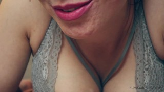 cuckold husband watches how they fuck me and taste other people's cum