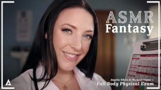 ASMRFantasy - Dr. Angela White gives Full Body Physical Exam