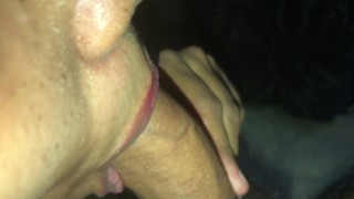 Indian muslim girl with hijab facefuck and cum drinking