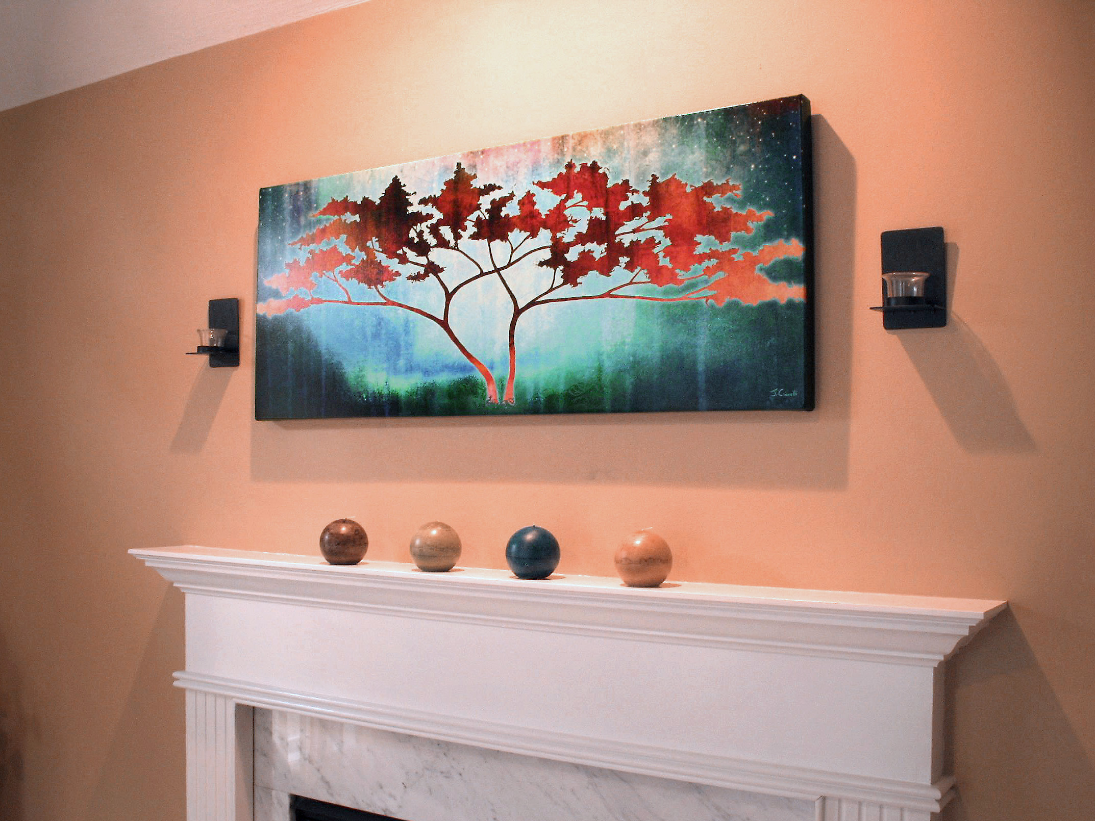 Big Canvas Prints Modern Art For Home Abstract Tree Art Large Canvas