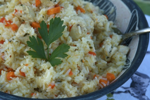 Chicken Rice Pilaf