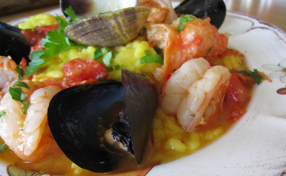 Seafood Risotto Recipe ( Frutti di Mare ) u2022 CiaoFlorentina - prep cook