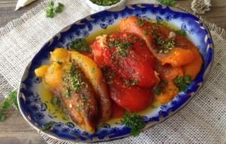Gremolata Roasted Pepper Salad Recipe