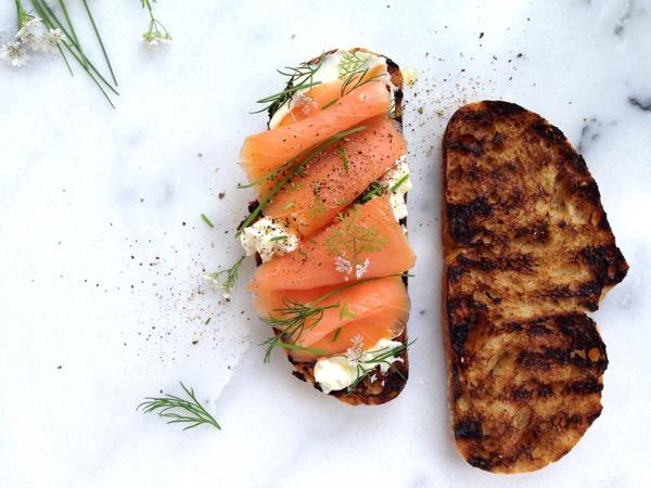 Smoked Salmon Crostini Recipe - Ciao Florentina