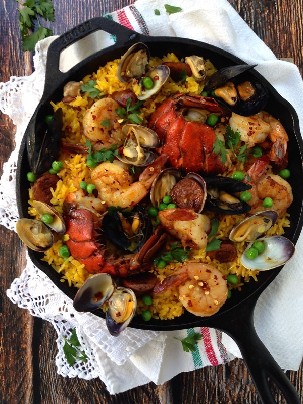 how to cook paella spanish style