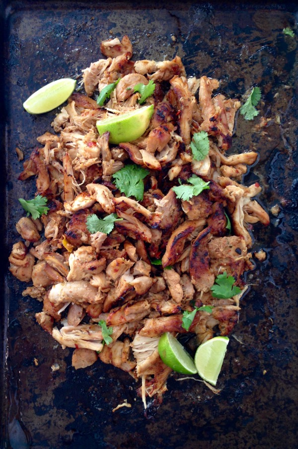how to make chicken carnitas
