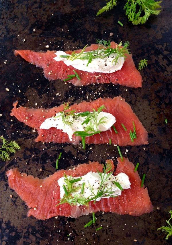 Smoked Salmon Appetizers Recipe