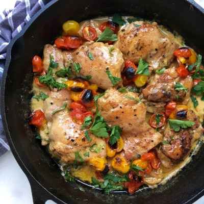 Chicken In White Wine Recipe