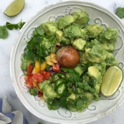 Simple Homemade Guacamole Recipe