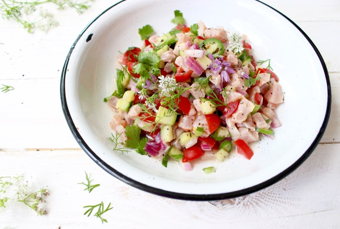 An authentic Mexican ceviche recipe made with fresh wild caught marlin ...