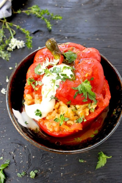 Best Stuffed Peppers Recipe (Easy)