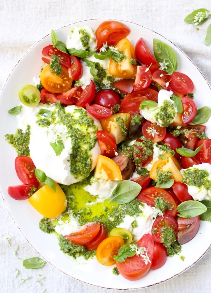 Tomato Burrata Salad Recipe ( Burrata Caprese ) • Ciao Florentina