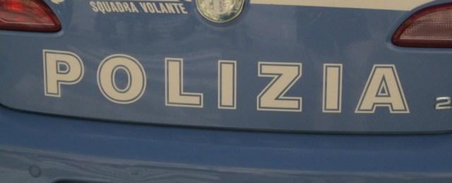 ev Polizia: una volante della Questura di Catanzaro