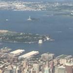 NY from plane