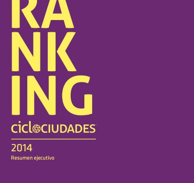ranking ciclociudades 2014