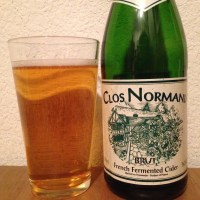 Hard Cider Review: Clos Normand Brut