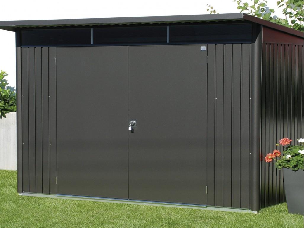 Abri De Jardin Aluminium Toit Plat | Abri De Jardin Metal Adossable ...