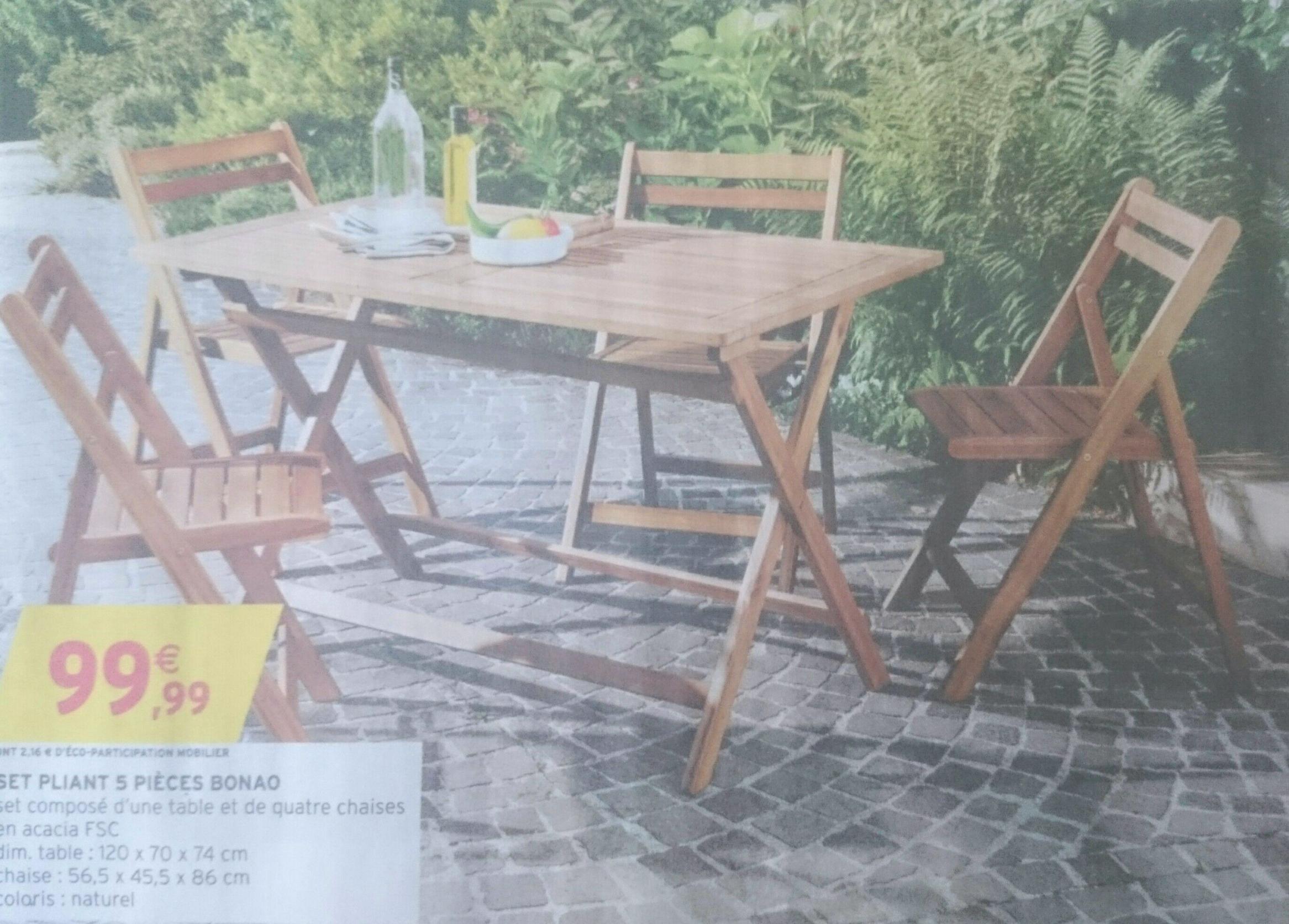 Best Salon De Jardin Acacia Ou Eucalyptus Ideas - House Design ...