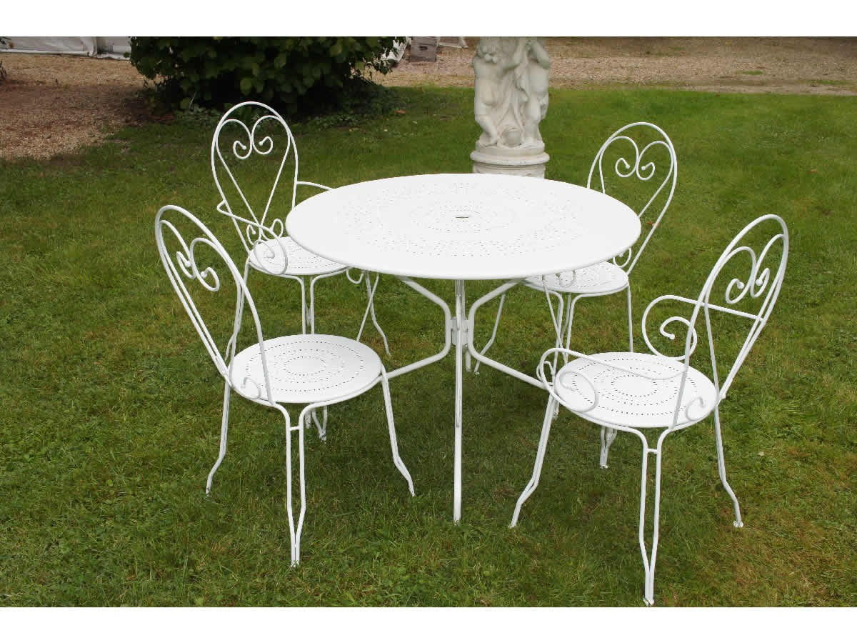 Table Jardin Ronde Fer