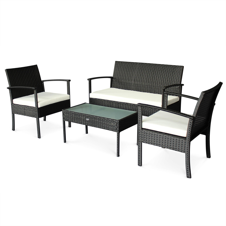 Salon Jardin Aluminium Table Extensible 135/270cm + Chaises Et ...