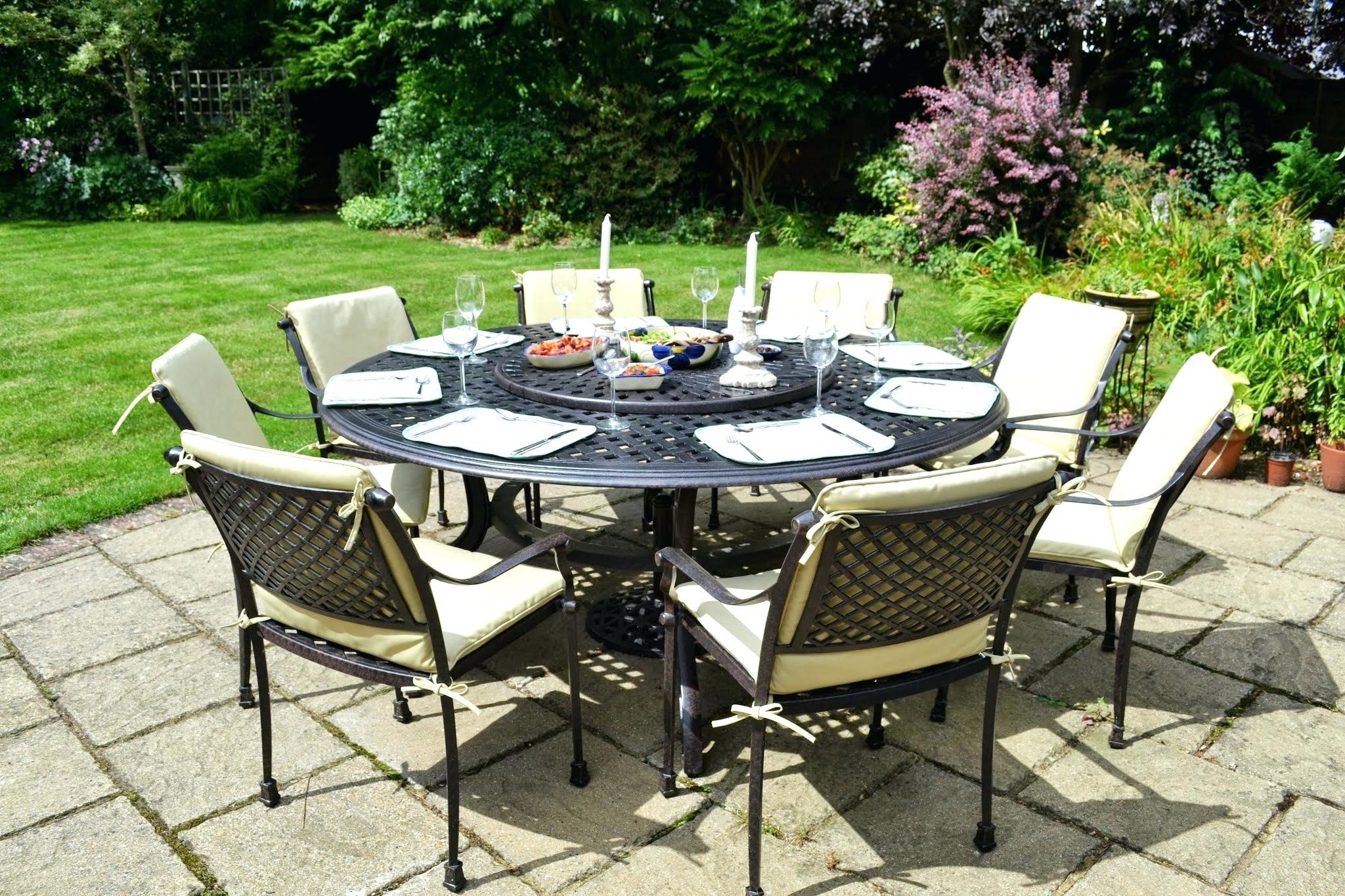 Emejing Salon De Jardin Table Ronde Photos - House Design ...