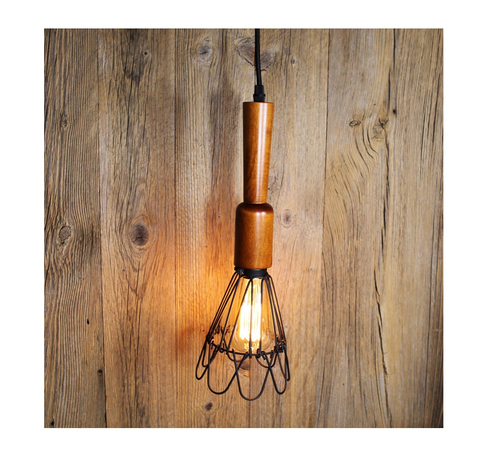 Lampe Suspension Style Industriel Suspension Style Baladeuse De Garage Ou D Atelier Vintage