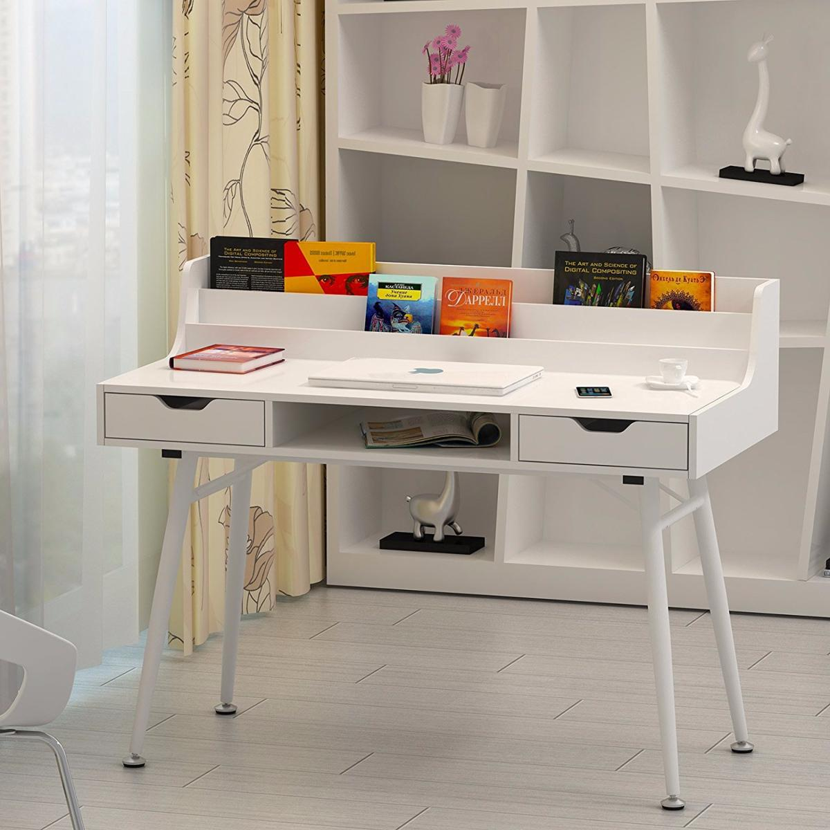 Bureau Informatique Design Bureau Informatique Design Blanc