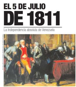 Venezuela 5 julio 1811