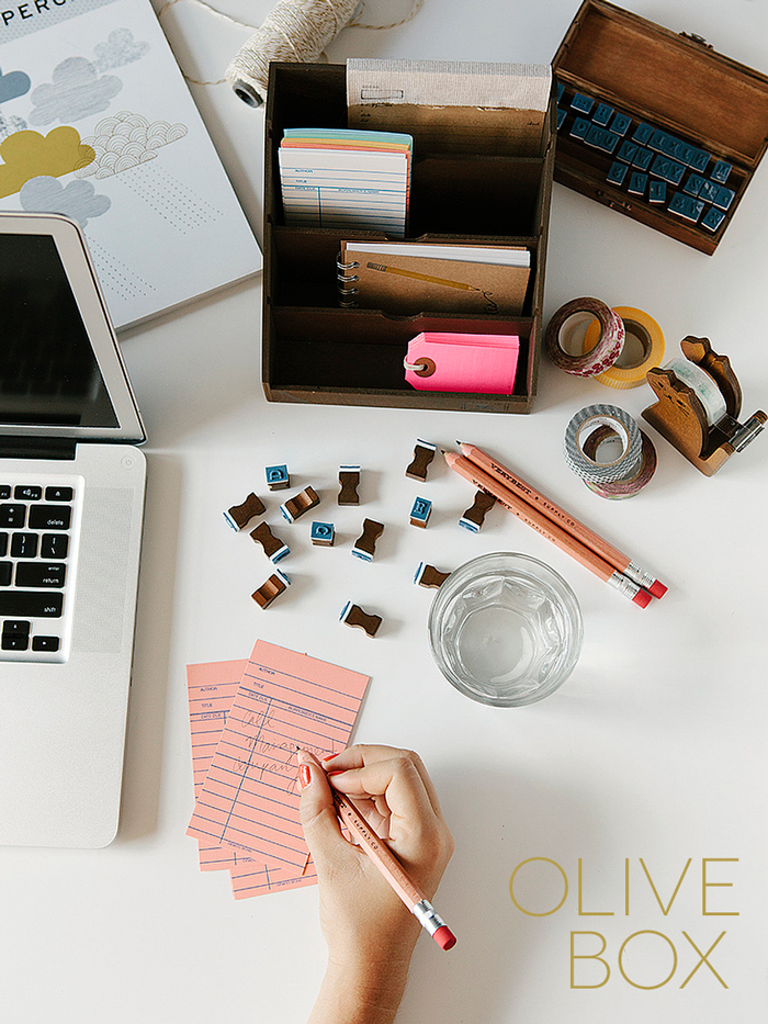 Olive Box - Hand-picked paper & lifestyle products delivered monthly to your door