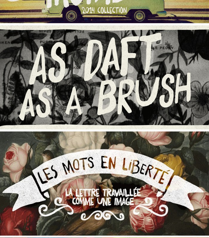 Daft Brush Font by Pintassilgo Prints