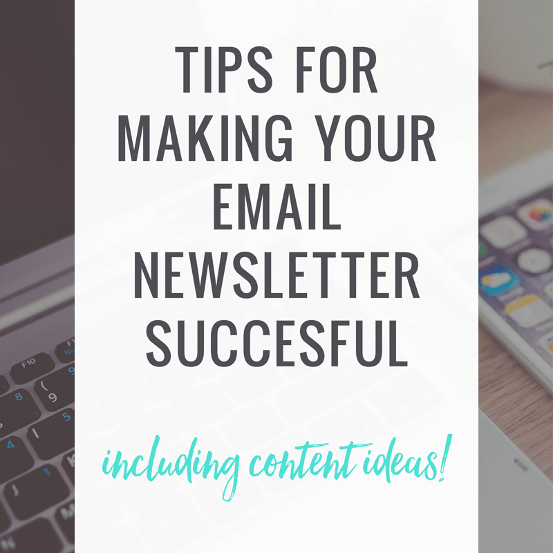 Tips for Your Email Newsletter