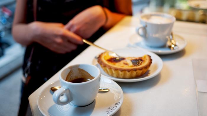 Madrid Spain Bou Cafe Coffee Mercado de San Miguel