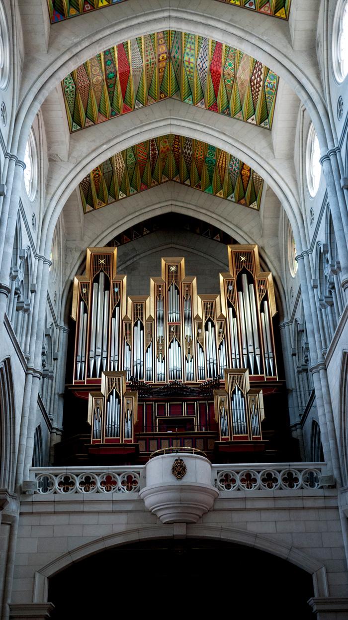 Madrid Spain Organ Almudena Cathedral