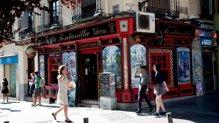 Madrid Spain Taberna La Fontanilla Bar