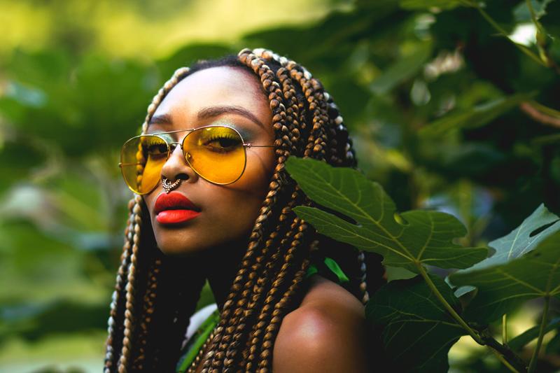 urban glam tropical goddess