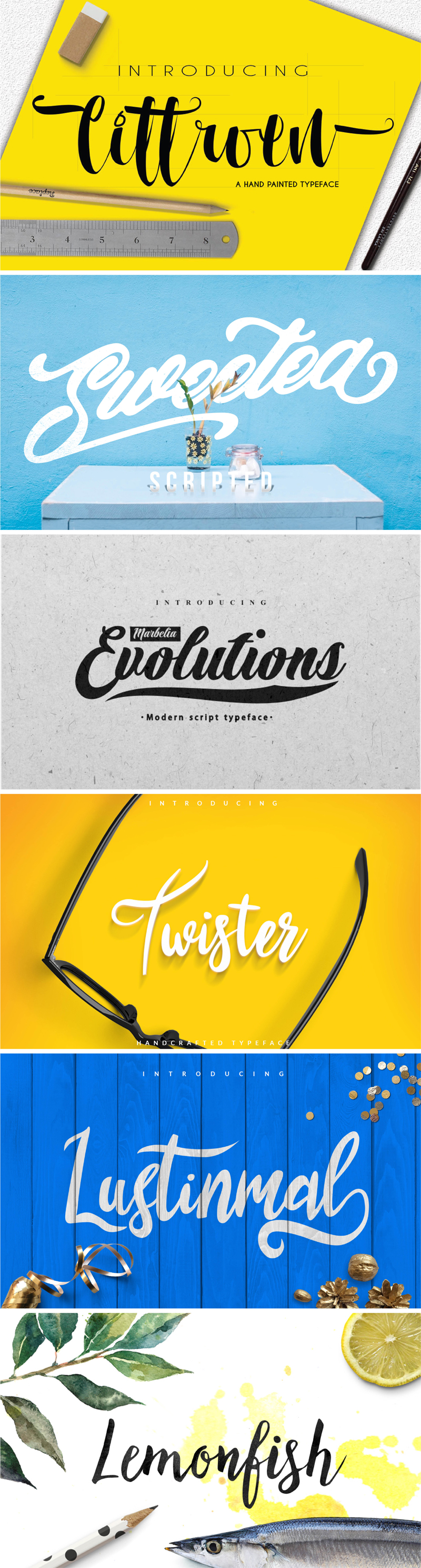 Grab this amazing bundle of 20 fonts for 93% off!